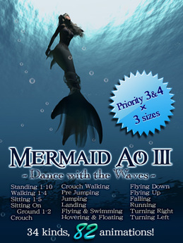:KH: Mermaid AO 3 -Dance with the Waves-