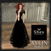 PROMO!!!Shey Aylin Black Lace Gown