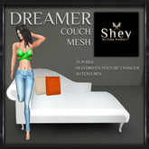 Shey Mesh Dreamers Pose Couch