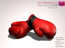 Full Perm Mesh Boxing Gloves - Builder's Kit