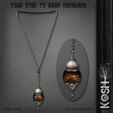 KOSH- YOUR SOUL TO KEEP NECKLACE