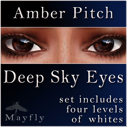 Mayfly - Deep Sky Eyes (Amber Pitch)