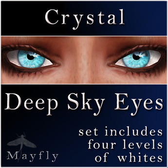 Mayfly - Deep Sky Eyes (Crystal)