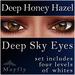 Mayfly - Deep Sky Eyes (Deep Honey Hazel)