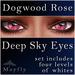 Mayfly - Deep Sky Eyes (Dogwood Rose)