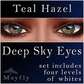 Mayfly - Deep Sky Eyes (Teal Hazel)