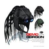 [Gos] MESH Gorgon Helmet & Goggles - DEMO