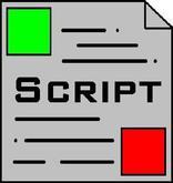 Hovering Text Script