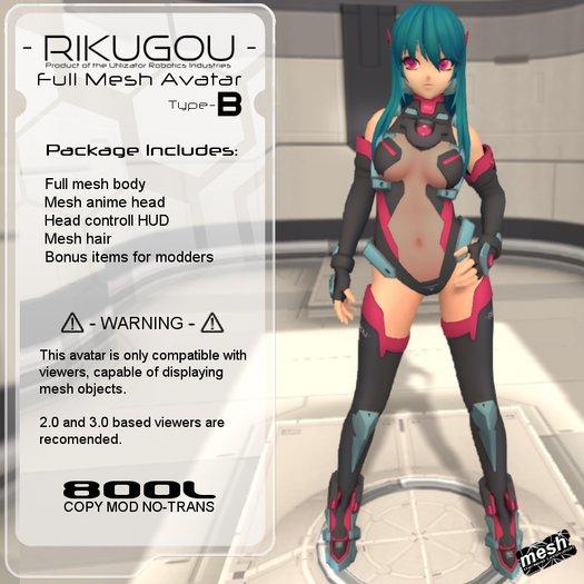 <UTILIZATOR> - Rikugou - B