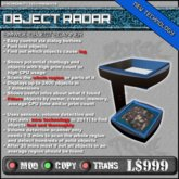Object Radar * Object and Lag Finder