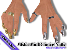 **1/2 OFF SALE!!** Solid Manicure Multichoice Nails - by Misha
