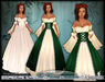 [Wishbox] The Fairest Maiden II (Emerald Green) - Renaissance Role Play Princess Gown/Dress Medieval Fantasy