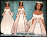 [Wishbox] The Fairest Maiden II (Cream) - Renaissance Role Play Gown/Dress! Medieval Fantasy