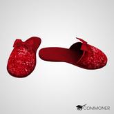 [Commoner] Ruby (House) Slippers