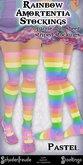 Schadenfreude Pastel Rainbow Amortentia Stockings