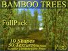 75 KIDD BAMBOO TREES * 50 Textures via menu * 10 Shapes * Sizable * Tintable