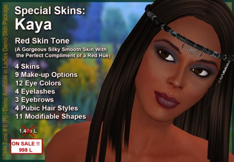 Kaya Skin Red Tone