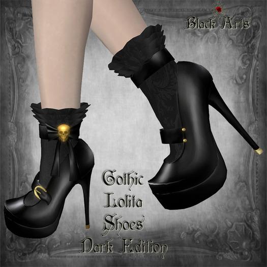 ~Black Arts~Gothic Shoes Dark Edition