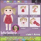 ~* Larnia Kids *~ bebe buttons - Violet Anne