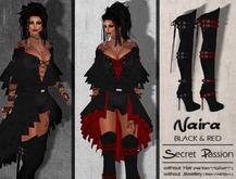 (SP) Naira -Black & Red-
