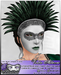 *~*Illusions*~* Volto Altezza Mask and Feather Crown