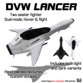 DVW Lancer - Two Seater Aircraft