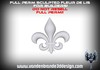 ~Full perm Fleur de lis + maps - easy to texture! + nano maps and normal maps!! can be supersmall!