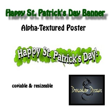 Happy St. Patrick's Day! Banner