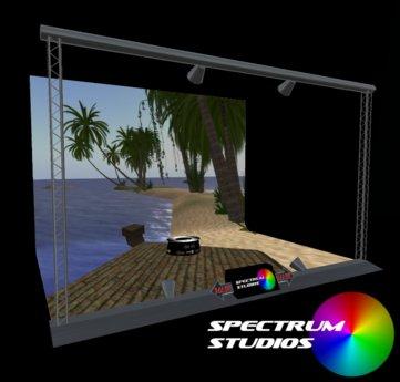 Spectrum Studios - Boxed Photo Studio Set  v3.0 With Texture Sorter HUD