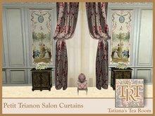 TTR-Petit Trianon-Salon Curtains