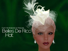 195a Belles De Ricci The Ricci Hat-Dmds(BOXED)-Jewelry by Jake**