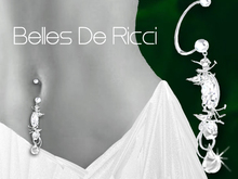 195a Belles De Ricci The Ricci Belly Ring Dmds(BOXED)-by Jake*
