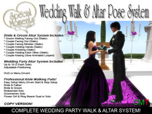 Premium Wedding Walk & Pose System  v1 [SALE ENDS SOON!]