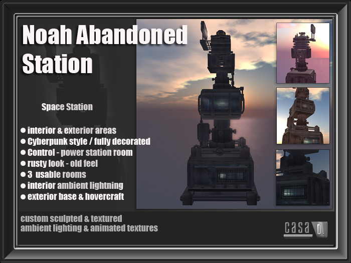 Noah Abandoned Station  special price