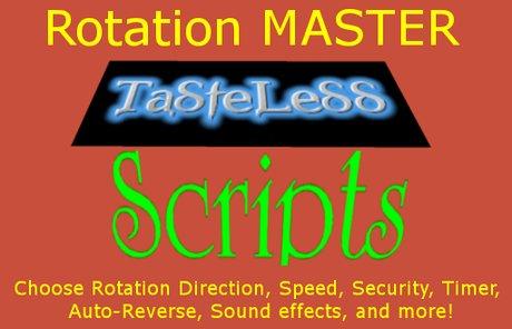 SCRIPT - Rotation Master
