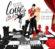 """[LA] LOSTANGEL:  """"Love is a Game"""" - Multipose with props"""