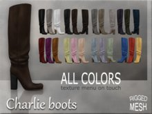 Charlie boots - ALL COLORS