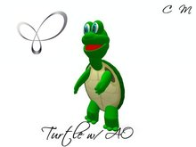 Tiny Turtle with Overrider Avatar