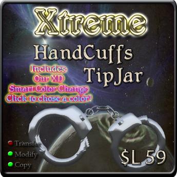 Hand Cuffs Tipjar - Hand Cuff