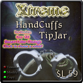 Hand Cuffs Tipjar - Hand Cuff - Hand Cuffs