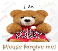 Sorry Card, I'm sorry...please forgive me card ***