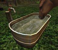 !! BrickWerkz !! Rustic Horse Water Trough v1.2