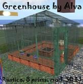 Greenhouse by Alva - Rustica / REDUCED PRICE