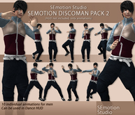 SEmotion DiscoMan Animation Pack 2 - 10 dancing animations!