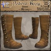 *LightStar - Medieval Boots-Brown
