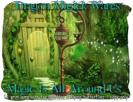 Dragon Magick Wares Magic Is All Around Us Lamp