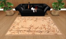 Bamboo Floral Rug