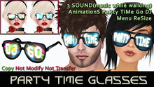 Party TiMe GlaSSeS