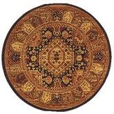 AFantasy Ebony Persian Circular Rug