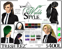 - Fresh Rez - A Wylde Style by Khyle Sion at ~Refined Wild~